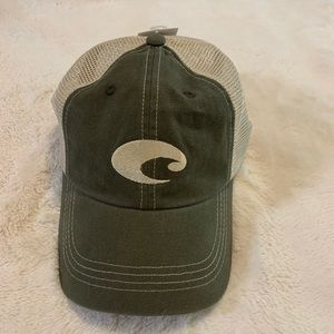 NWT Costa Hat in Olive Green